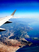 The view from the window seat