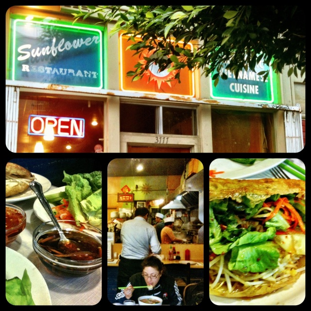 sunflower restaurant sf, sunflower restaurant san francisco, best vietnamese san francisco, cheap vietnamese food san francisco