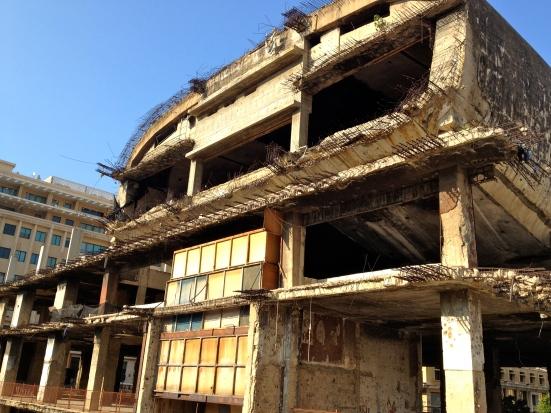 Insane Beirut building