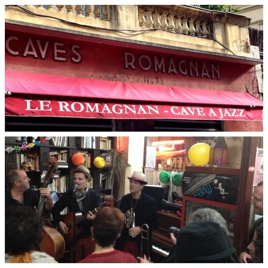 jazz caves Romagnan