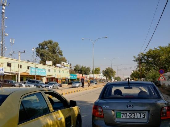 Jordanian boarder crossing