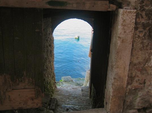 Door To The Sea Pula Croatia Stumblingintoparadise