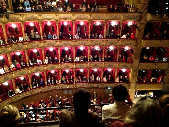 nosebleed seats at the opera