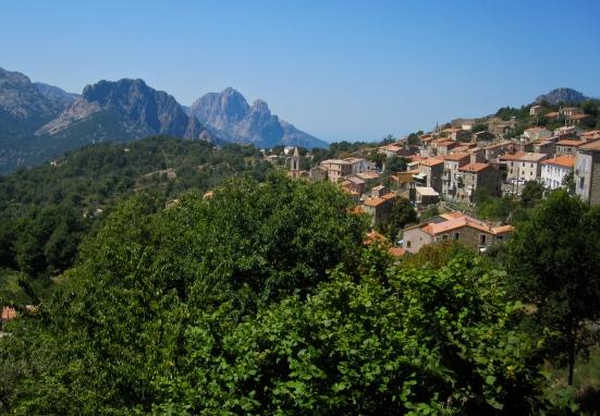 Evisa, Corsica