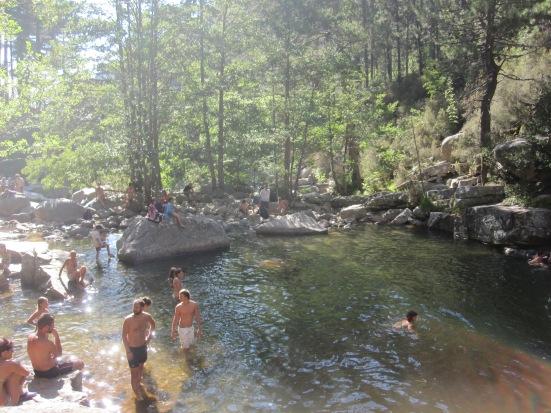Rock Pools in Evisa, Corisca